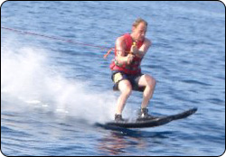 Michael Skiing