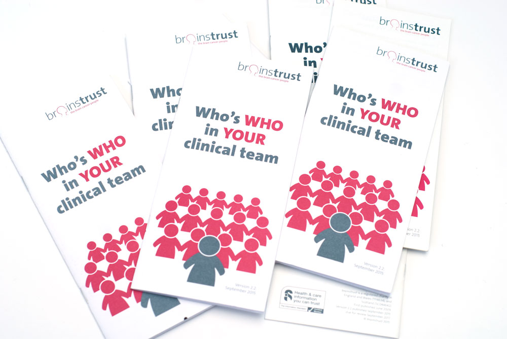 who is who on your brain tumour team?