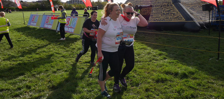Ruth and Aileen's couch to 5k for brain tumour support