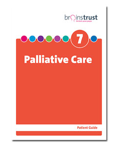 brain tumour patient guide palliative care
