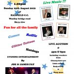 Jane's charity fun day in Hadfield
