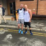 Friends' marathon effort raises more than £8,500 to support people affected by a brain tumour