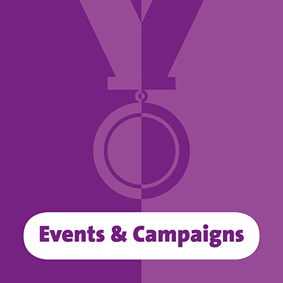website button events campaigns