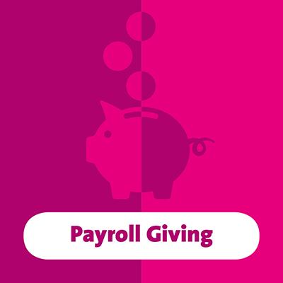 website button payroll giving