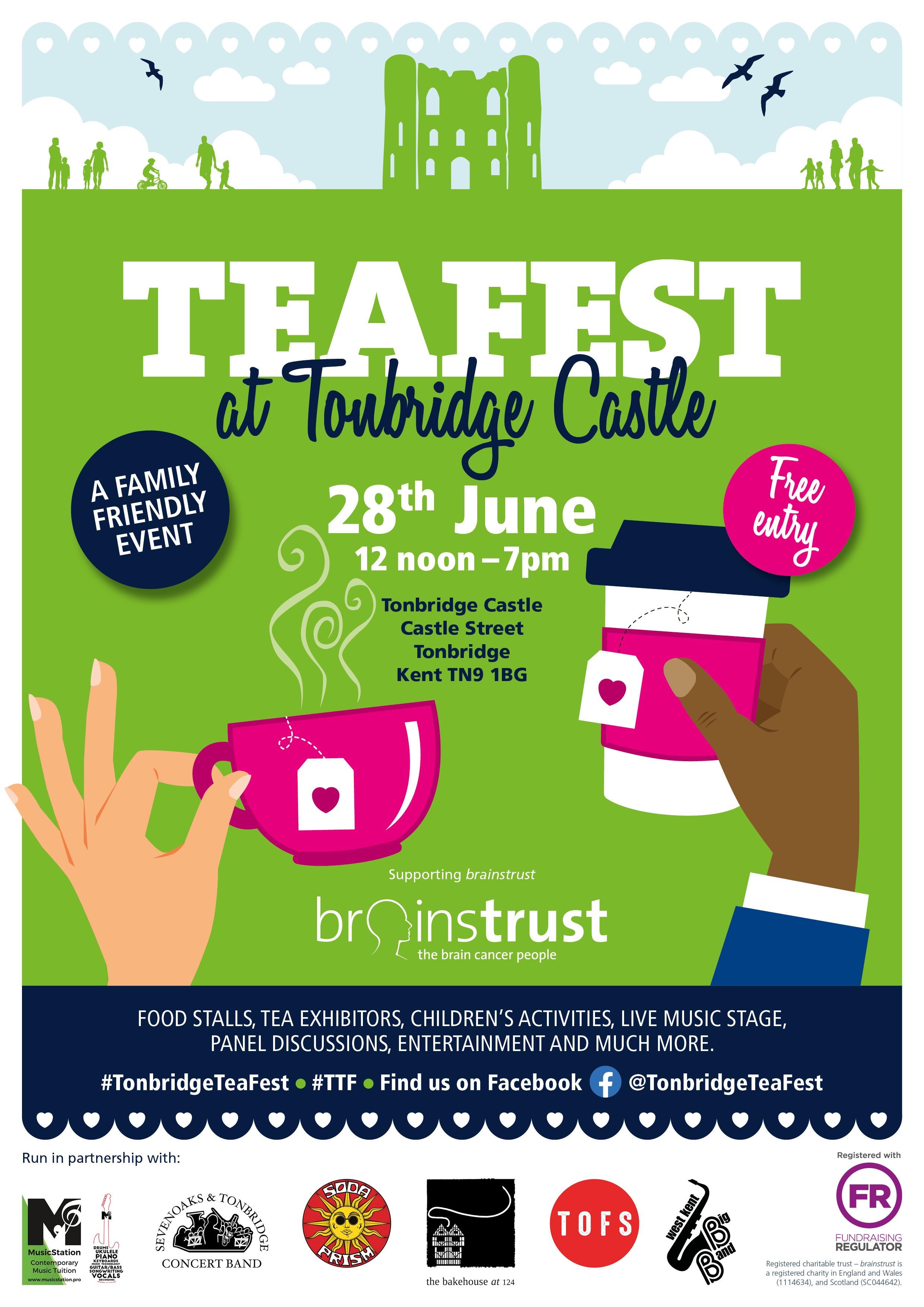 teafest a4 poster tonbridge 26.02.20