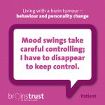 Top tips for managing behaviour and personality change