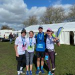Cambridge half marathon superstars