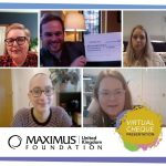 Maximus Foundation donates £2,500 to support people with a brain tumour