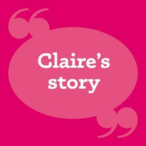 patients story square claire