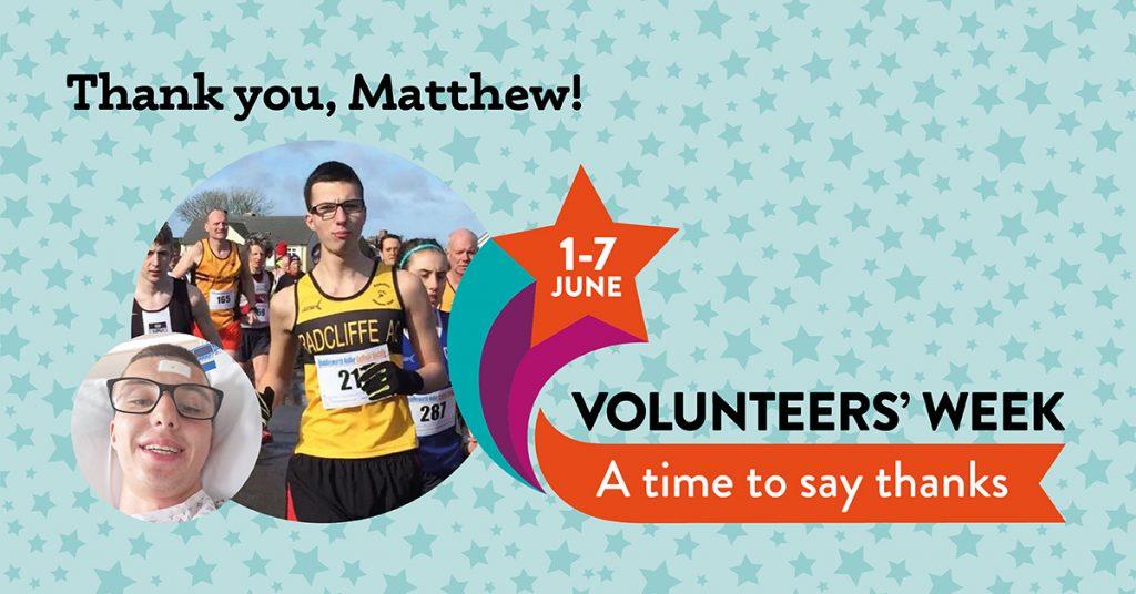 Matthew Volunteers Week