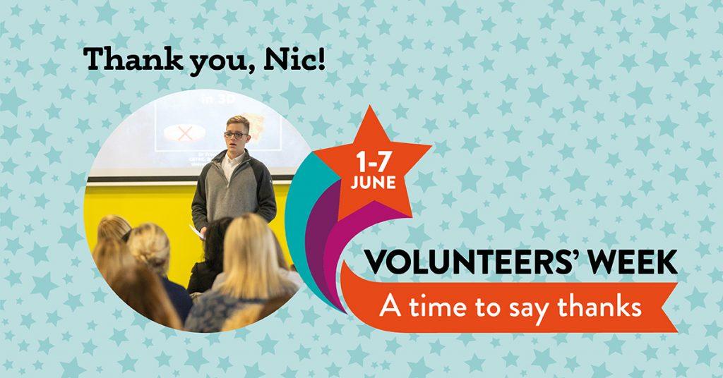 Nic Volunteers Week graphic